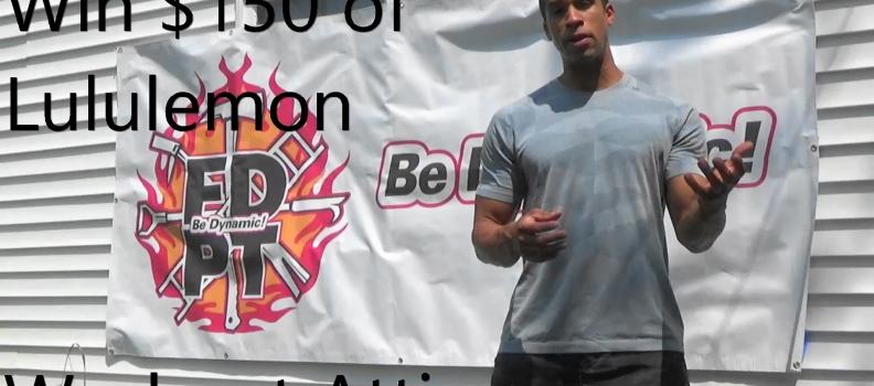 Win $150 Lululemon Workout Attire