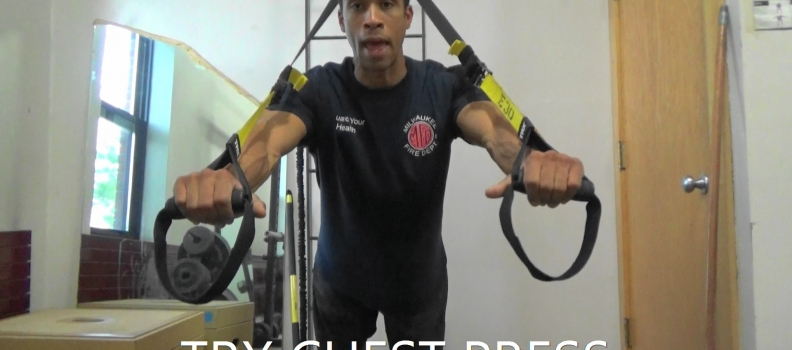 TRX Chest Press – What's Your Size?
